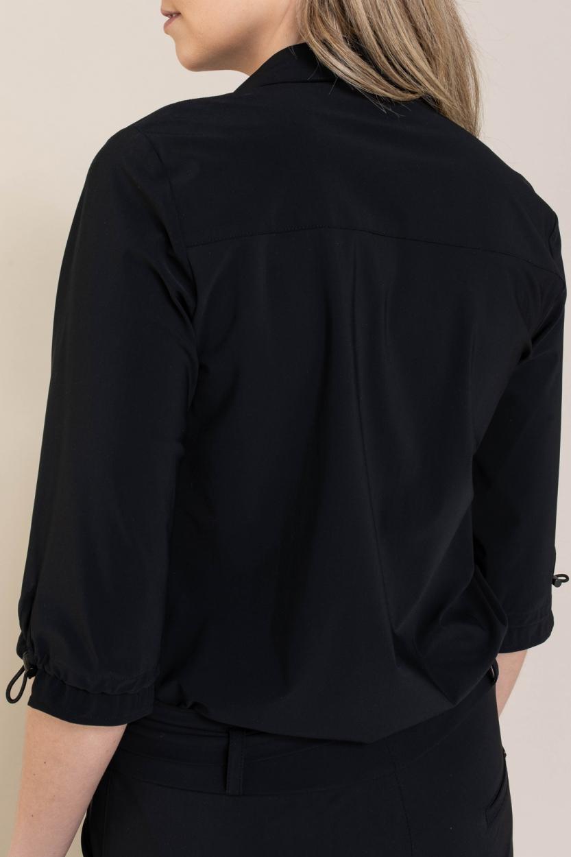 Jane Lushka Dames Flora blouse Zwart