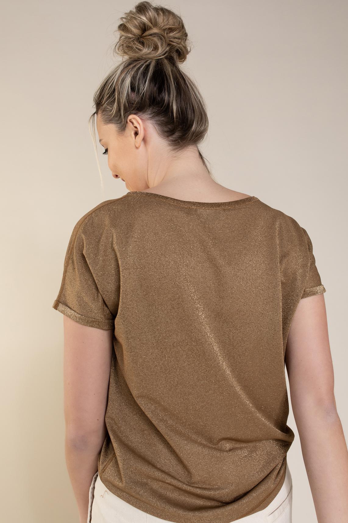 Mos Mosh Dames Kay shirt Bruin