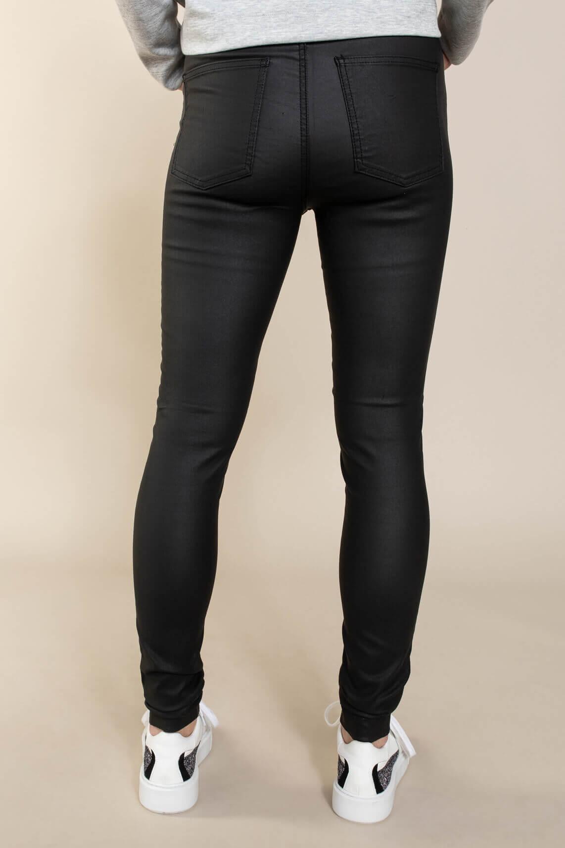 Object Dames Belle gecoate broek Zwart