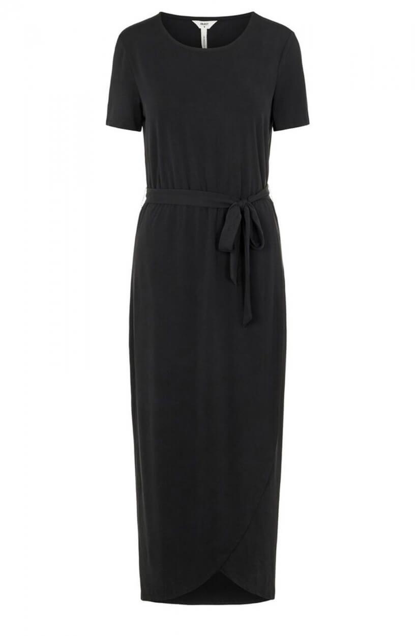 Object Dames Jannie Nadia jurk Zwart