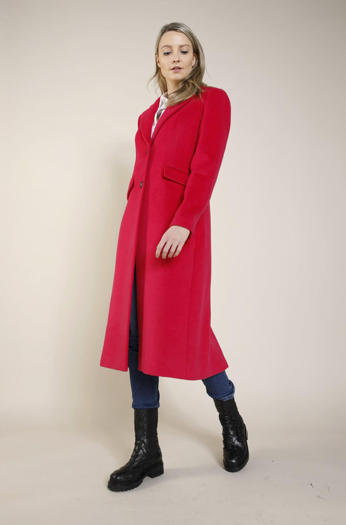 Beaumont Dames Lange mantel roze