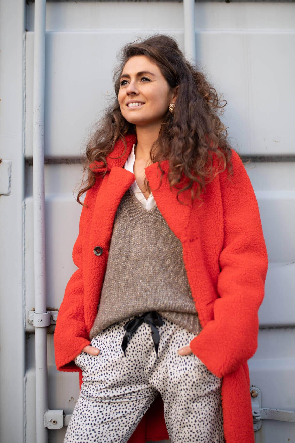 Beaumont Dames Reversible mantel Oranje
