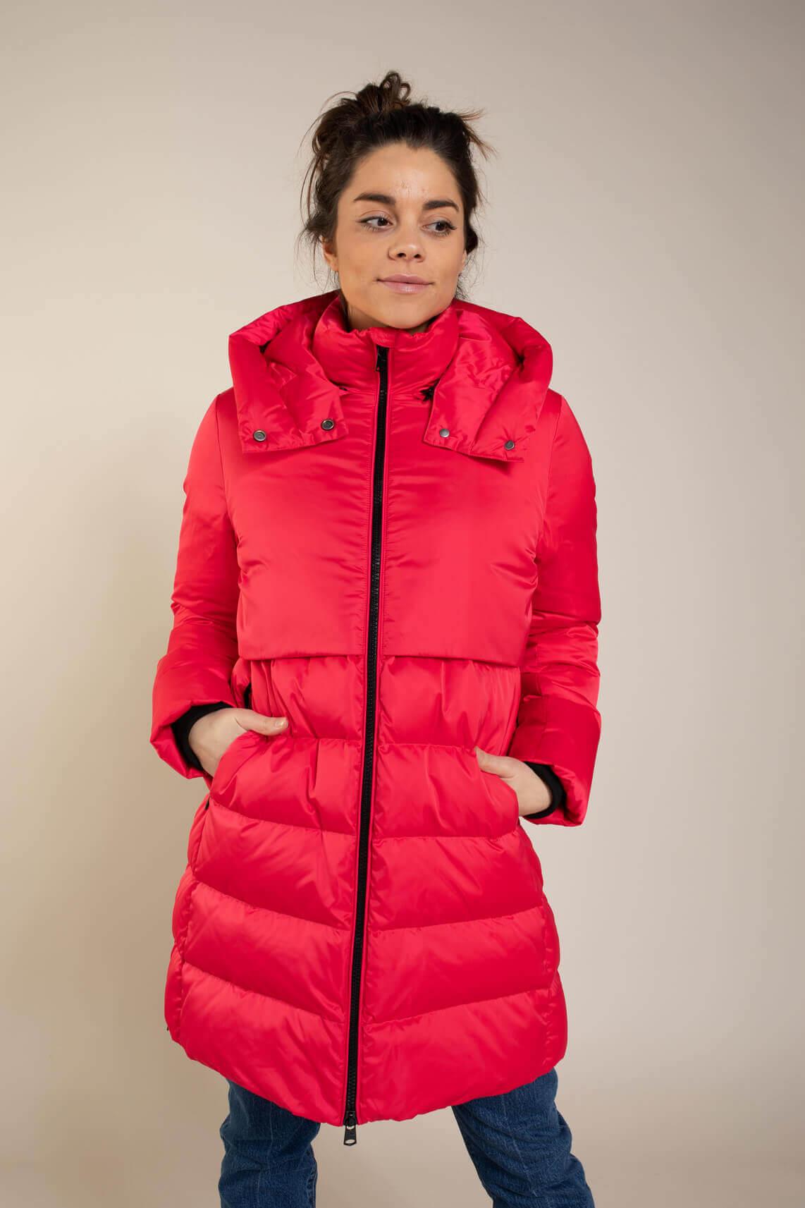 Beaumont Dames Opvallende jas roze