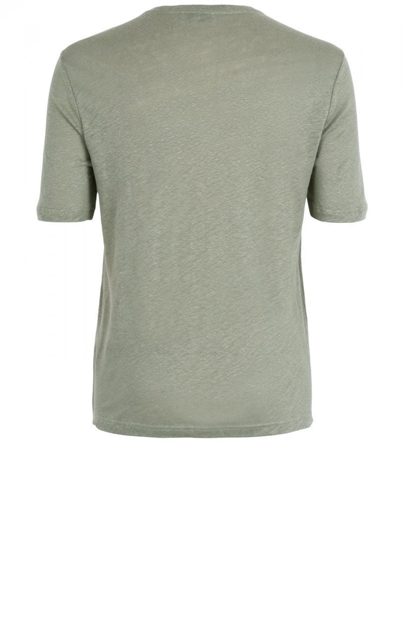 Anna Dames Linnen shirt Groen