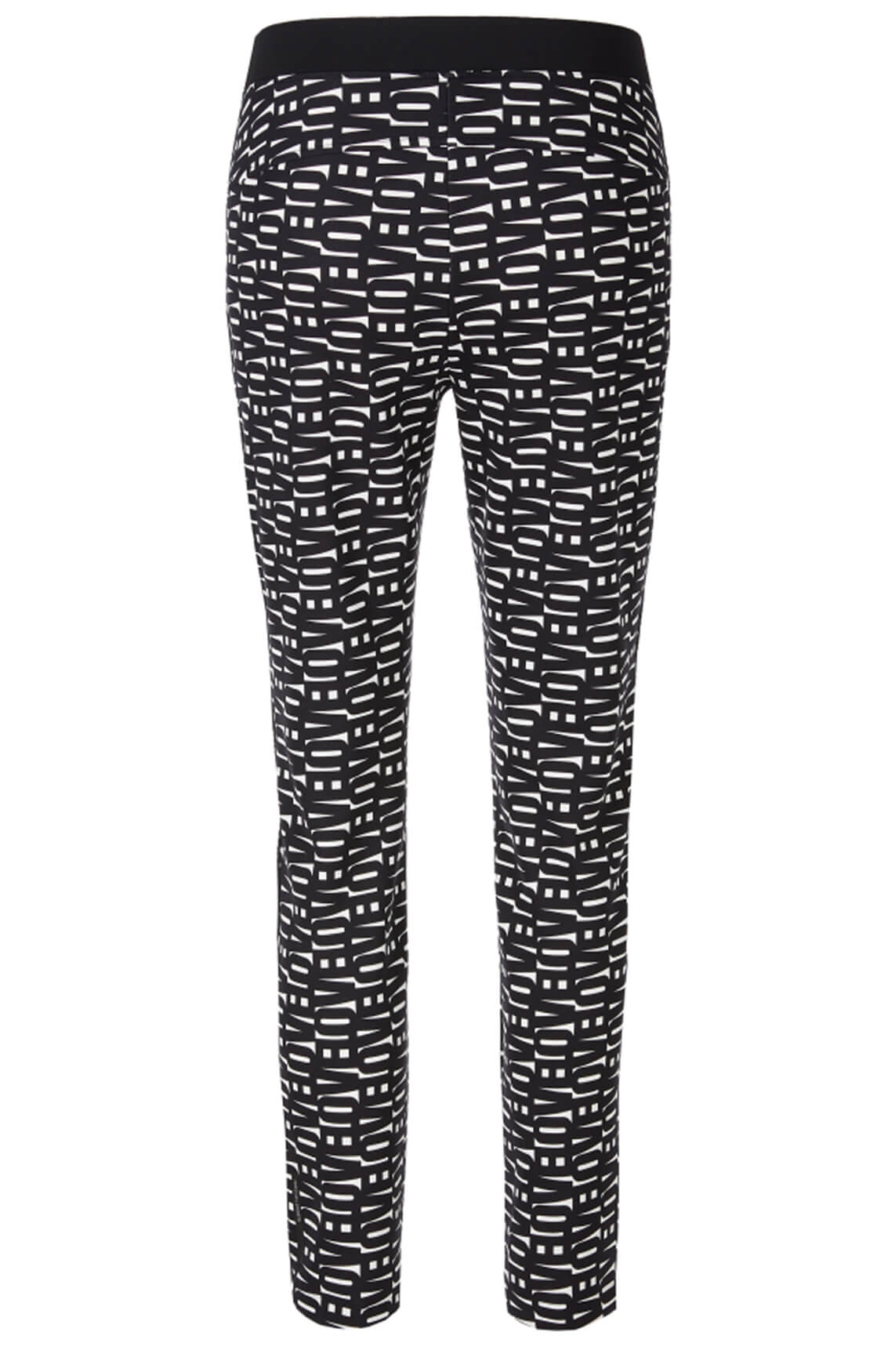 Marccain Sports Dames Love Letter pantalon zwart