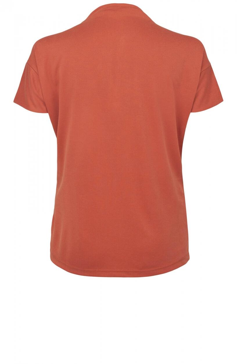 Anna Dames Shirt met turtleneck Rood