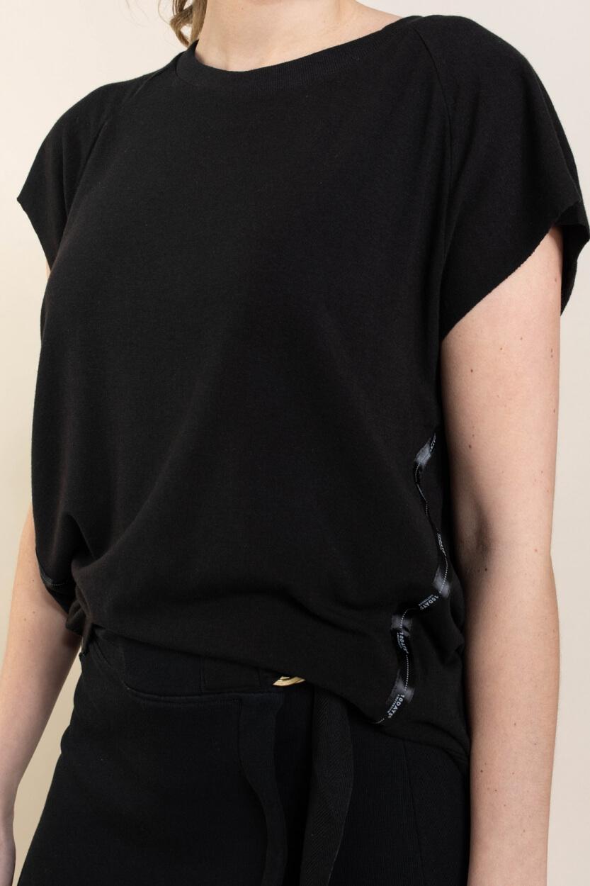 10 Days Dames Soft shirt Zwart