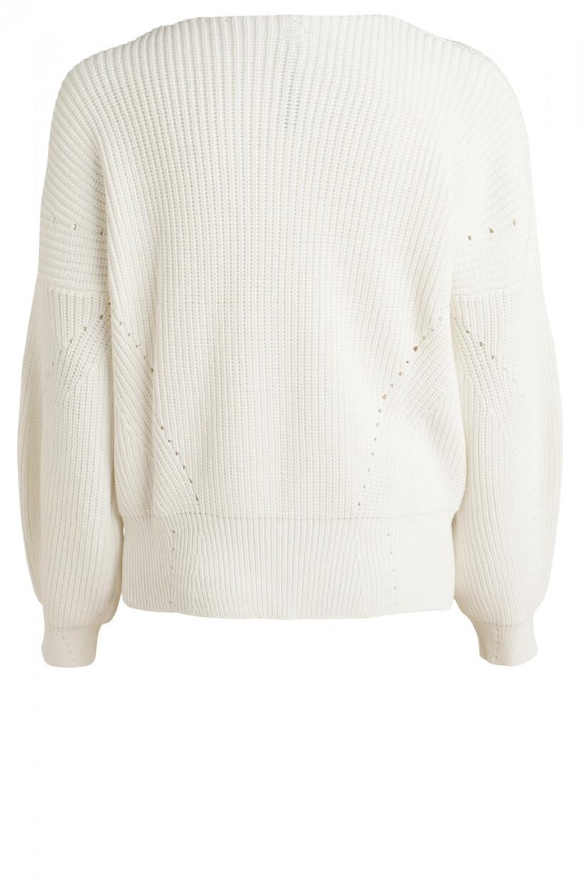 10 Days Dames Knitted sweater Wit