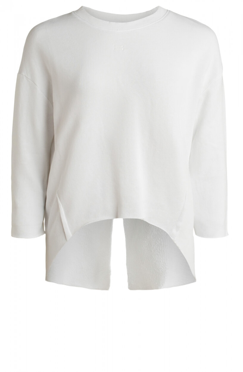 10 Days Dames Raw Edge sweater Wit