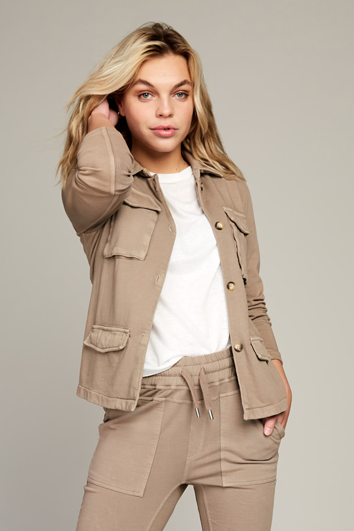 Moscow Dames Sunray blazer Bruin