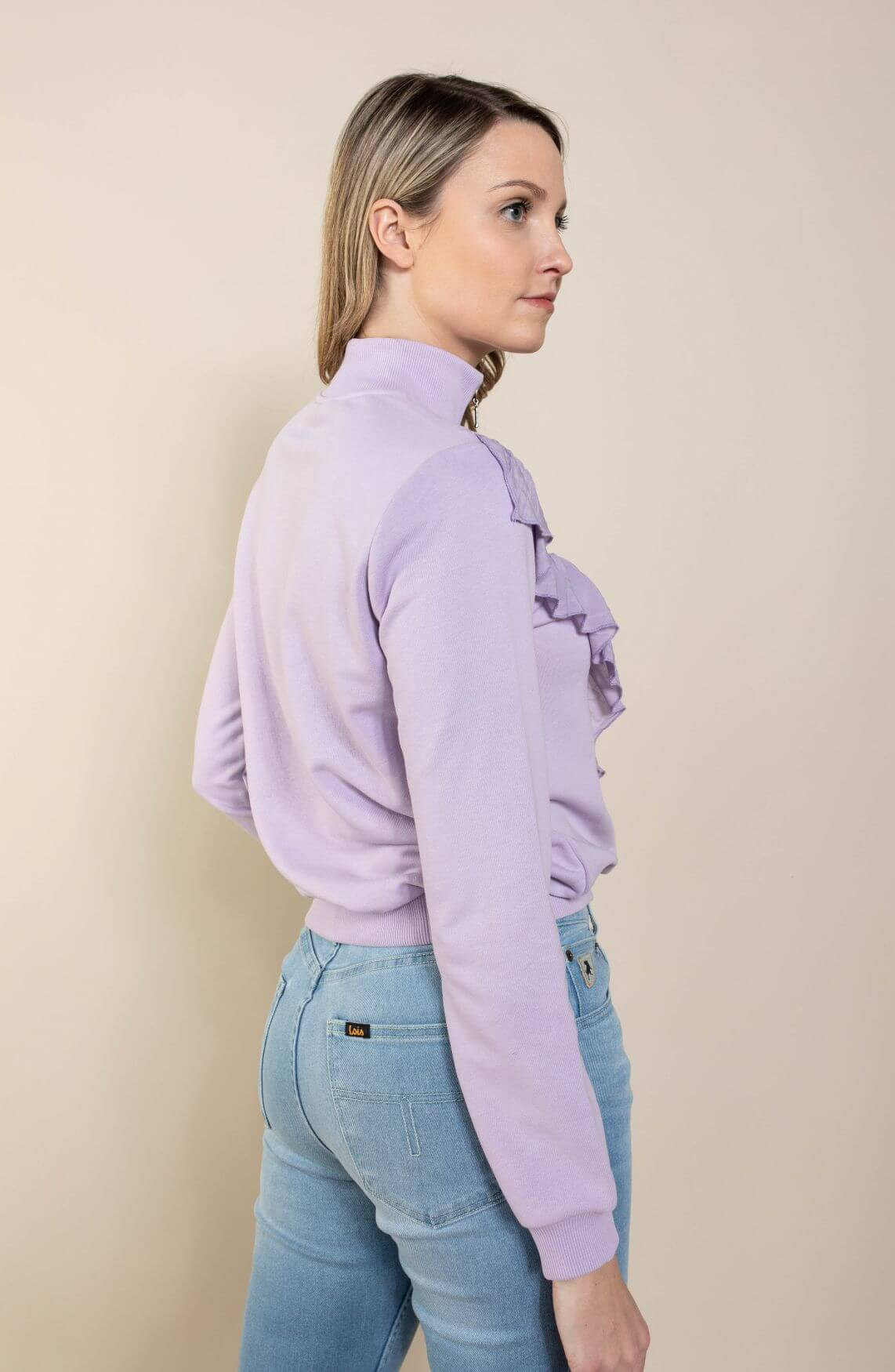 Nümph Dames Claire sweater Paars