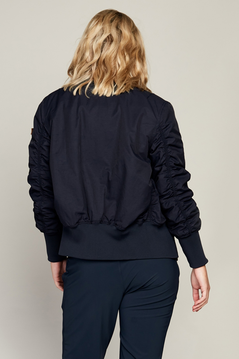 Moscow Dames Mai bomber Blauw