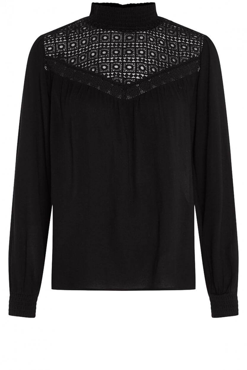 Fabienne Chapot Dames Lara blouse Zwart
