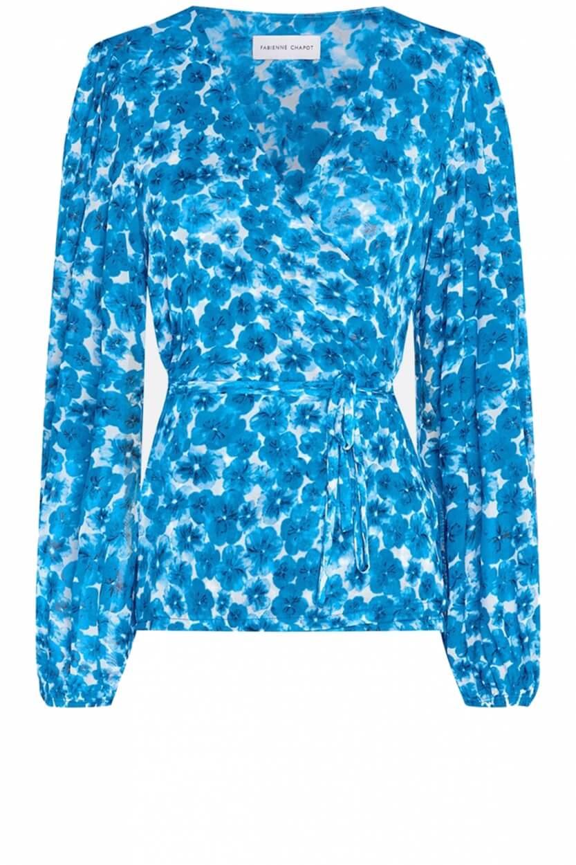 Fabienne Chapot Dames Evi blouse Blauw