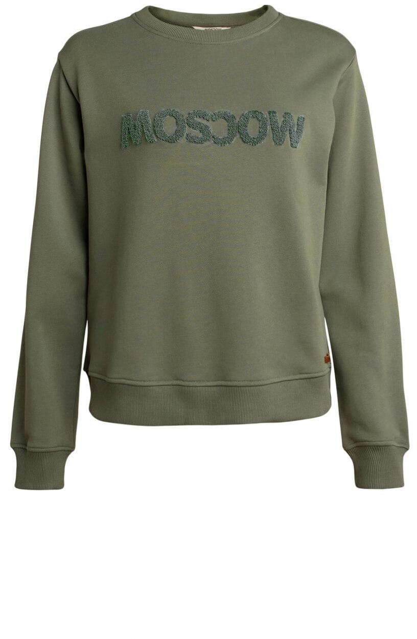 Moscow Dames Star sweater Groen
