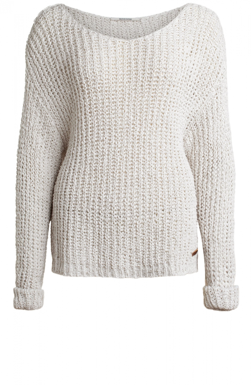 Moscow Dames Eef pullover Wit