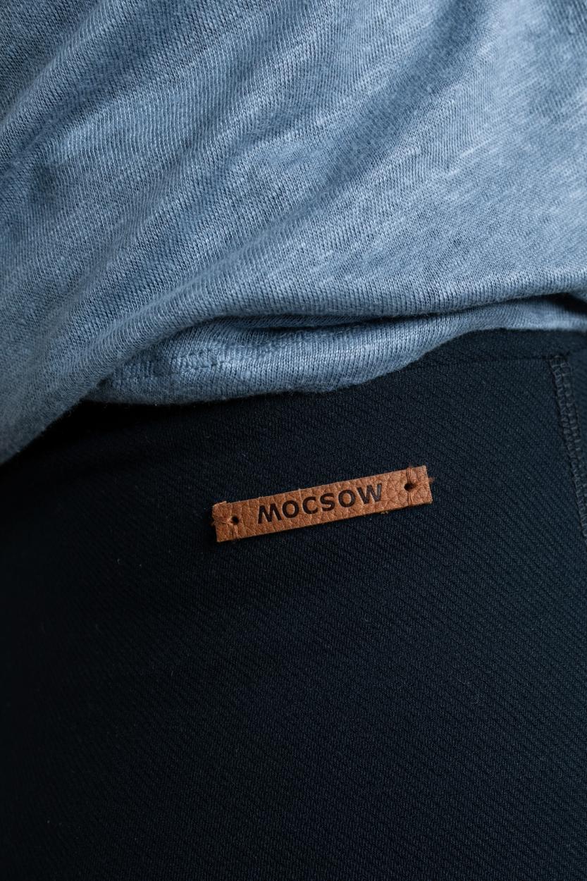 Moscow Dames Romea rok Blauw