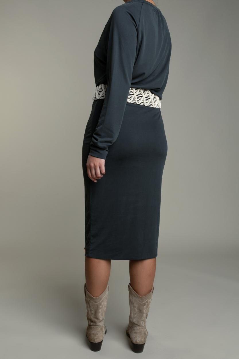 Moscow Dames Bella jurk Grijs