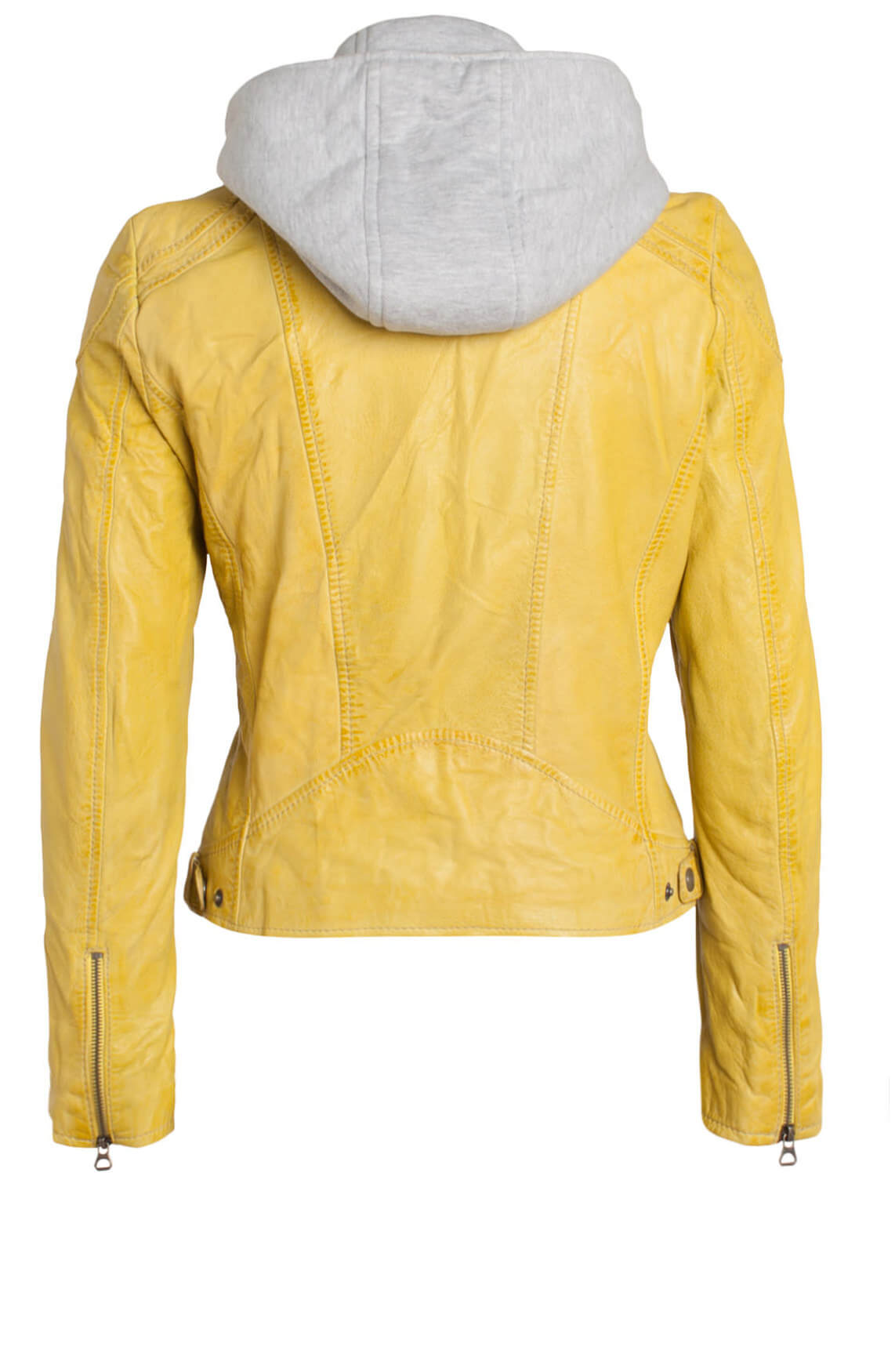 Gipsy Dames Biker jack yellow