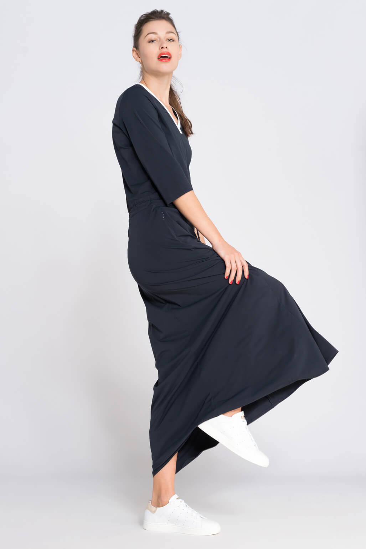 Anna Dames Lange jurk