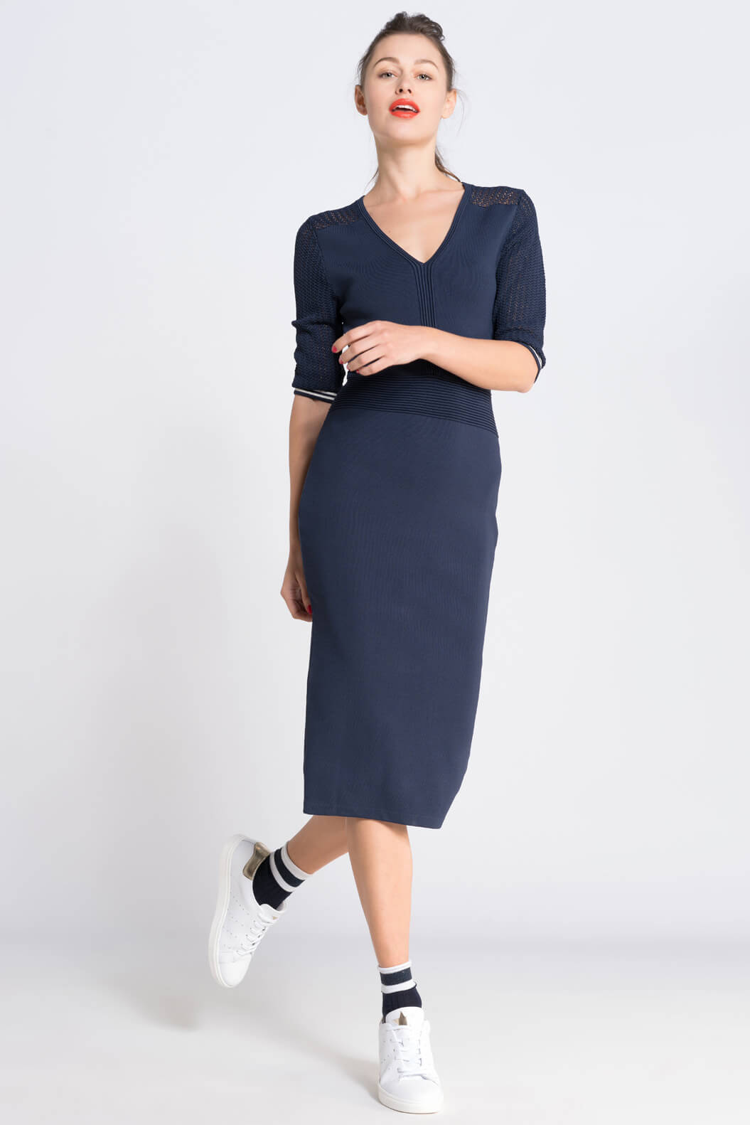 Anna Dames Vrouwelijke jurk