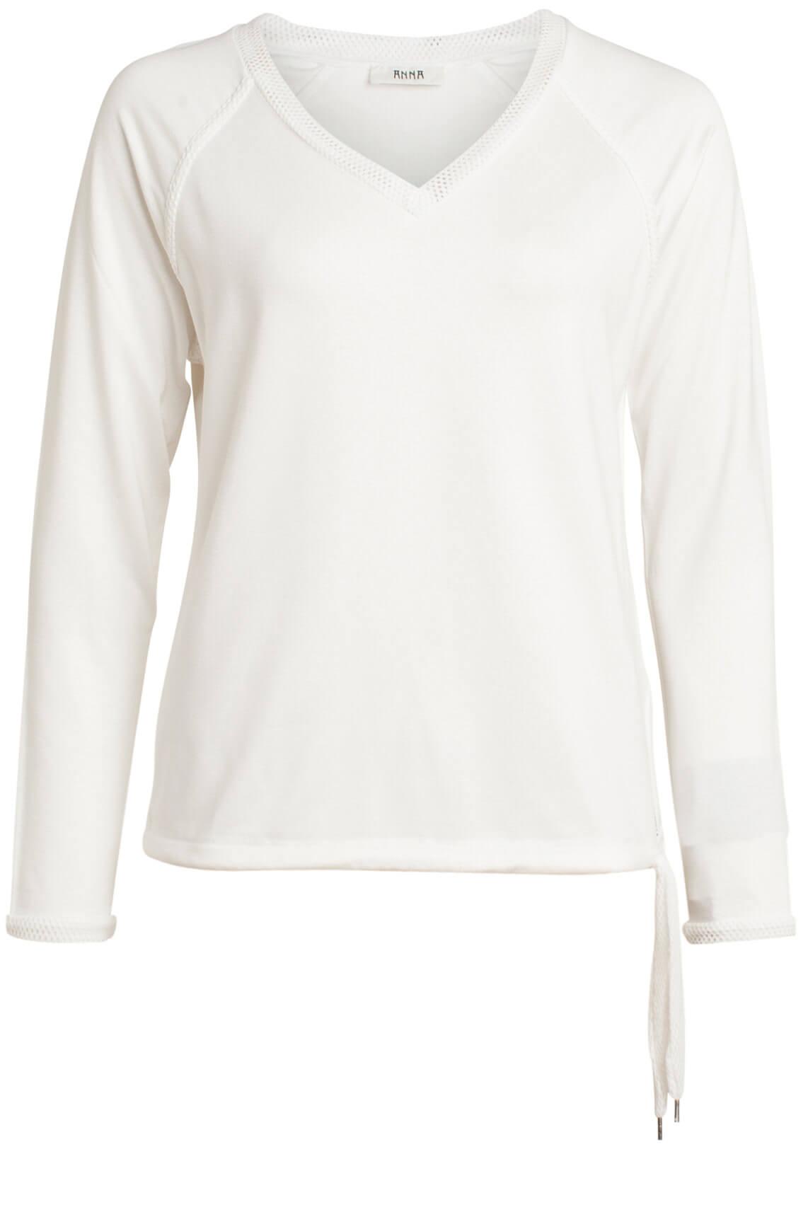 Anna Dames Shirt met mesh