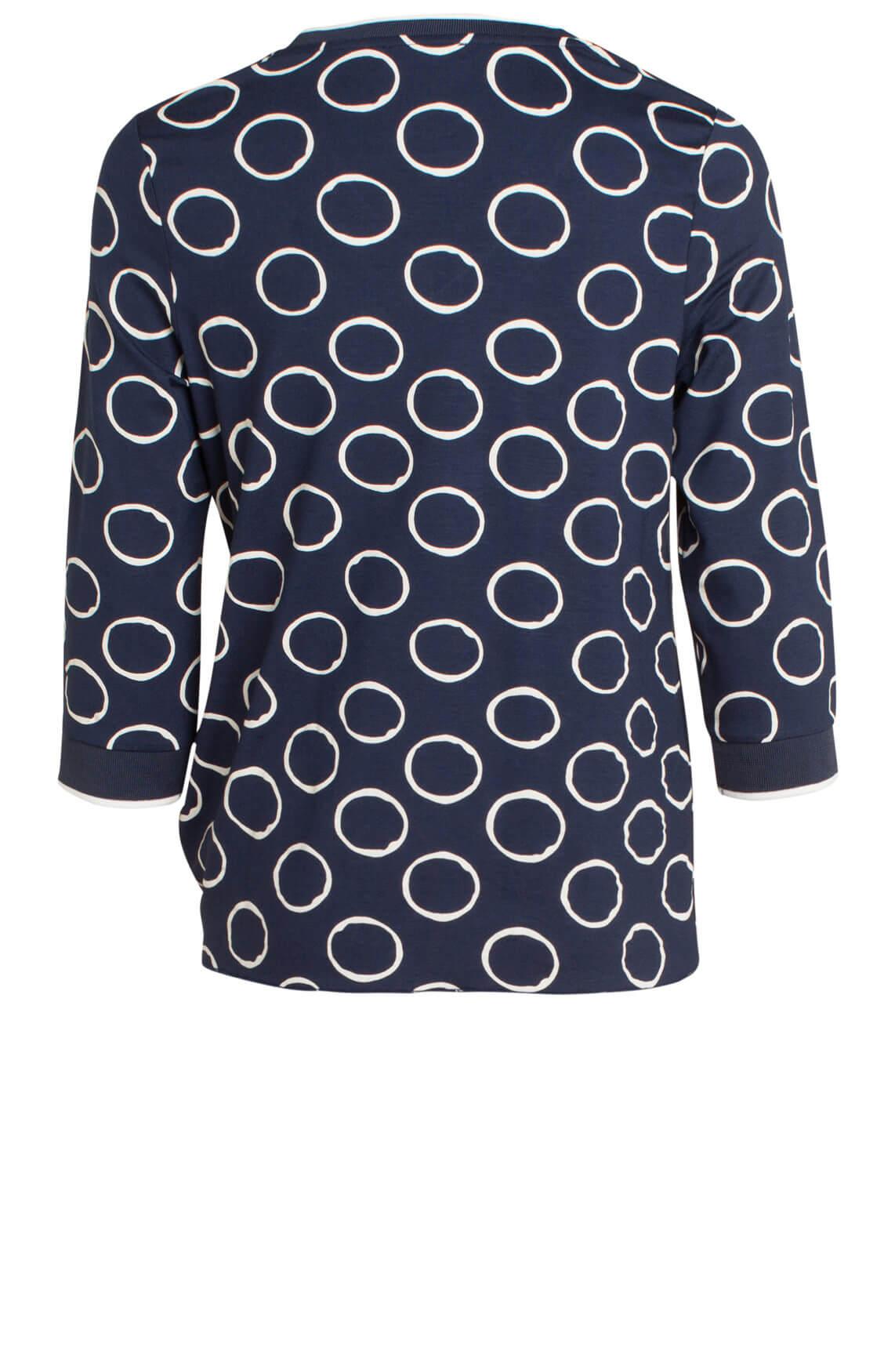 Anna Dames Shirt met cirkels