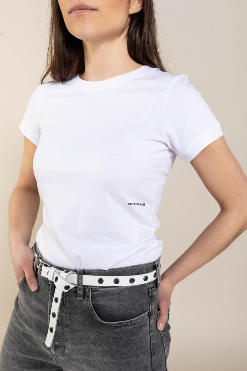 Calvin Klein Dames Logo shirt Wit