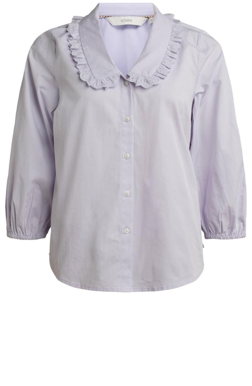 Nümph Dames Lacy blouse Paars