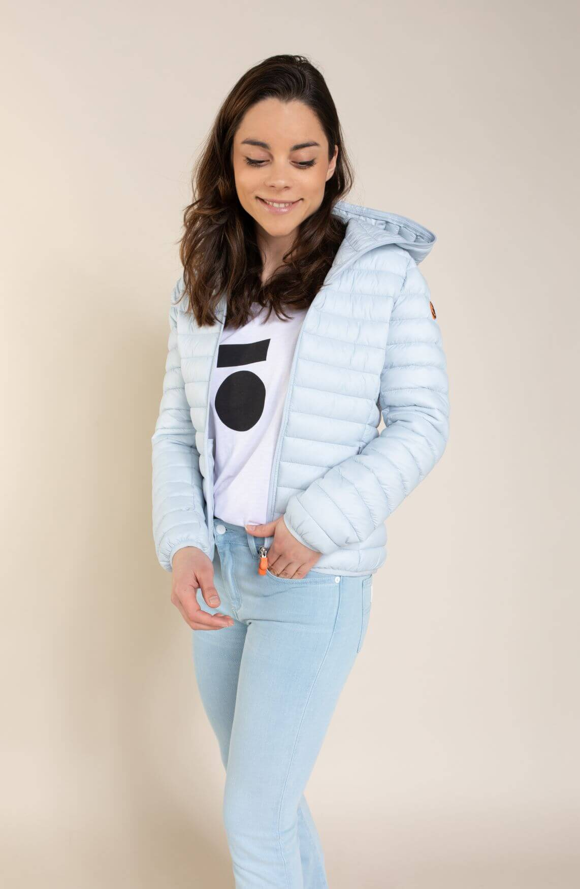 Save The Duck Dames Giga jas Blauw