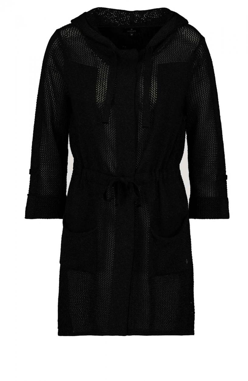 Monari Dames Vest Zwart