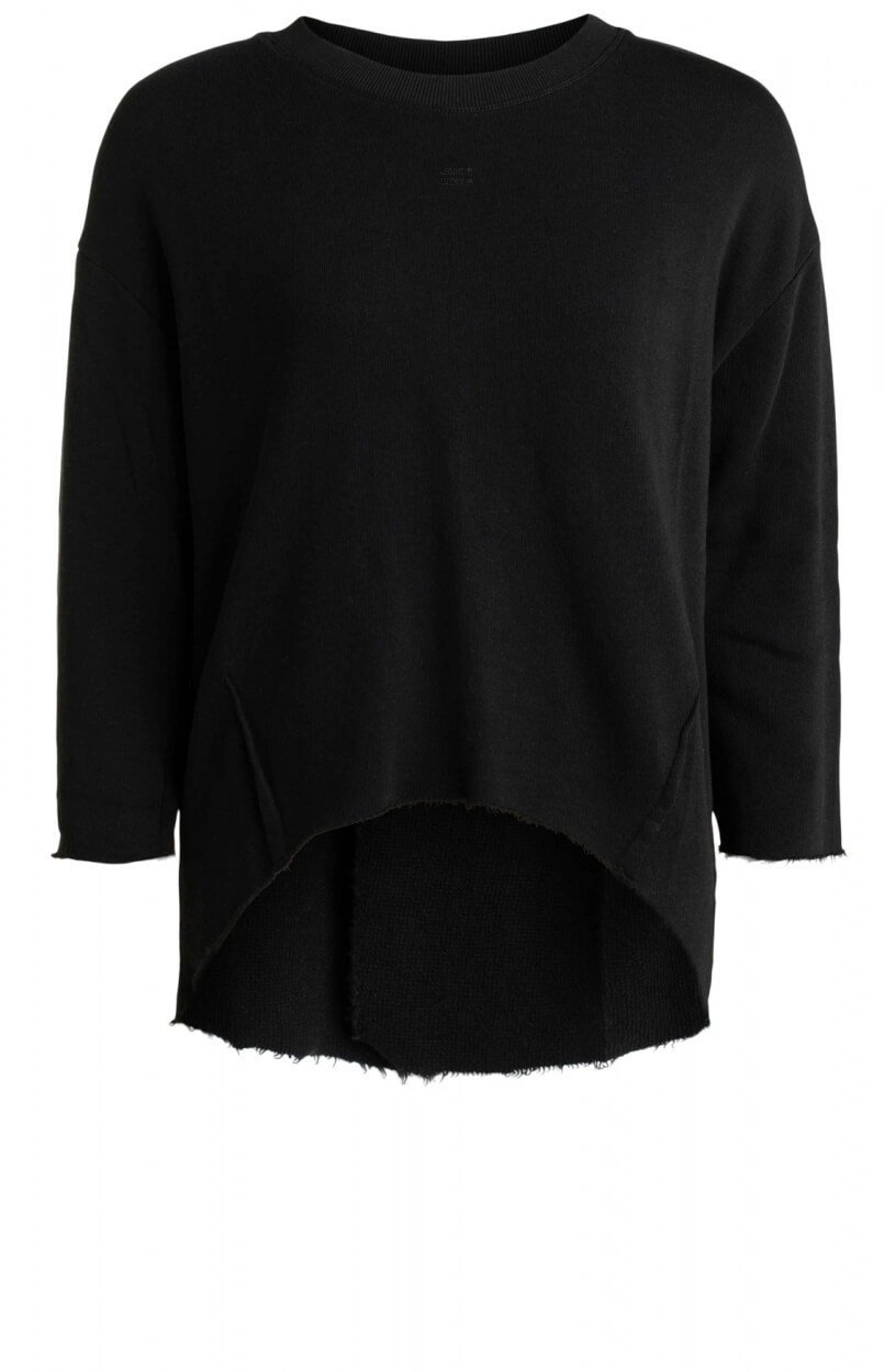 10 Days Dames Raw Edge sweater Zwart
