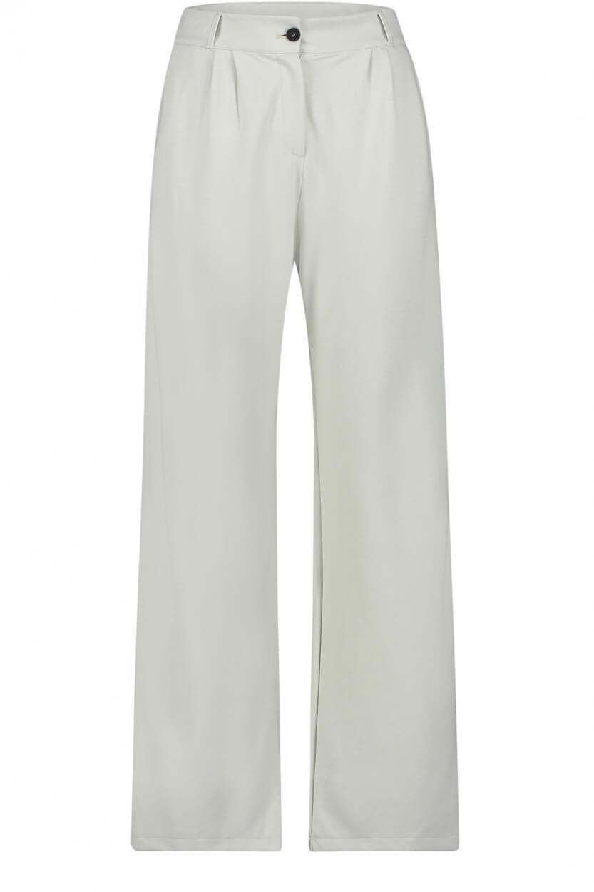Penn & Ink Dames Foggy pantalon Wit