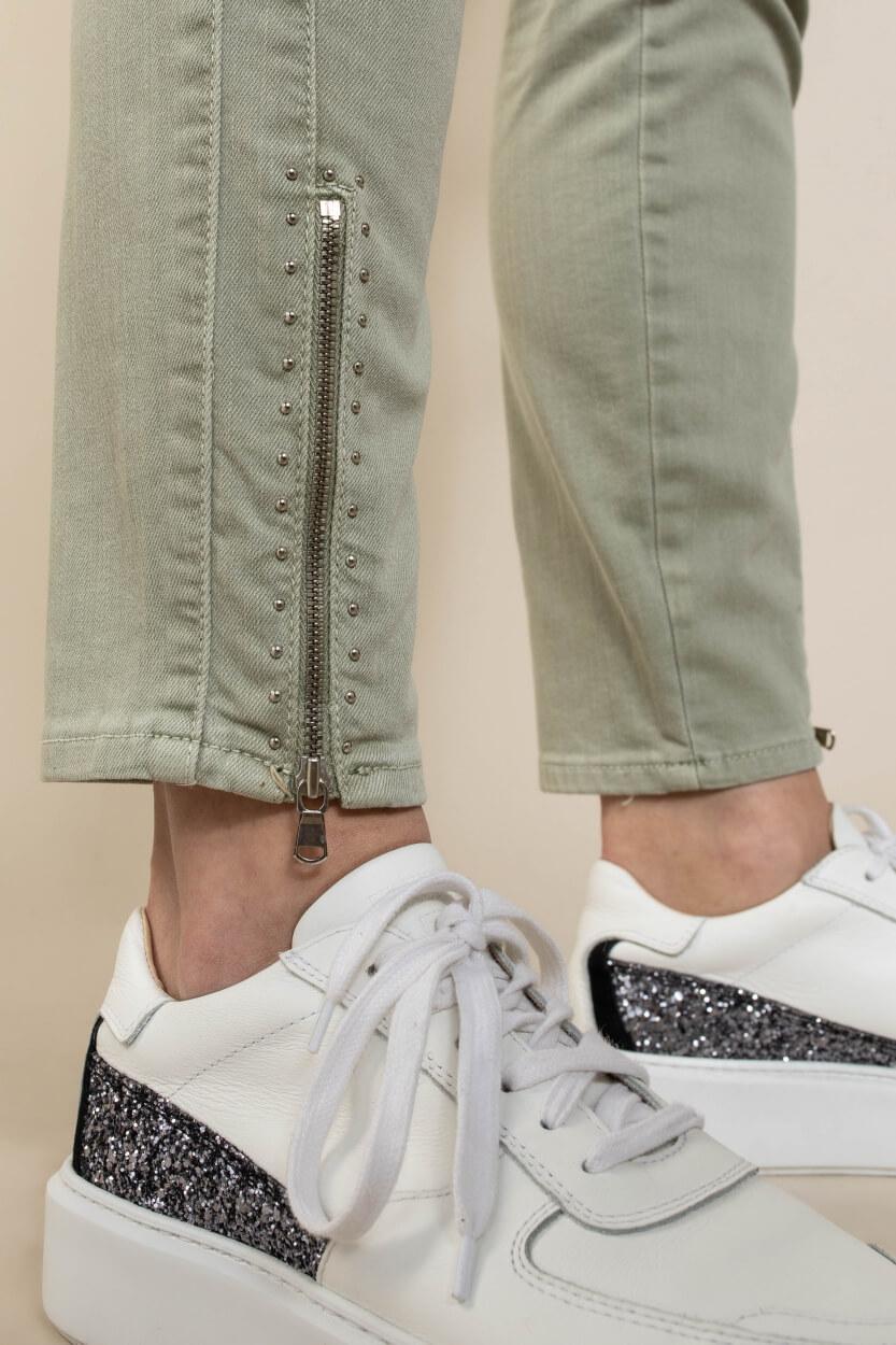 Rosner Dames L28 Audrey jeans Groen