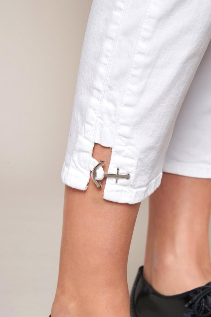 Rosner Dames L28 Audrey jeans Wit