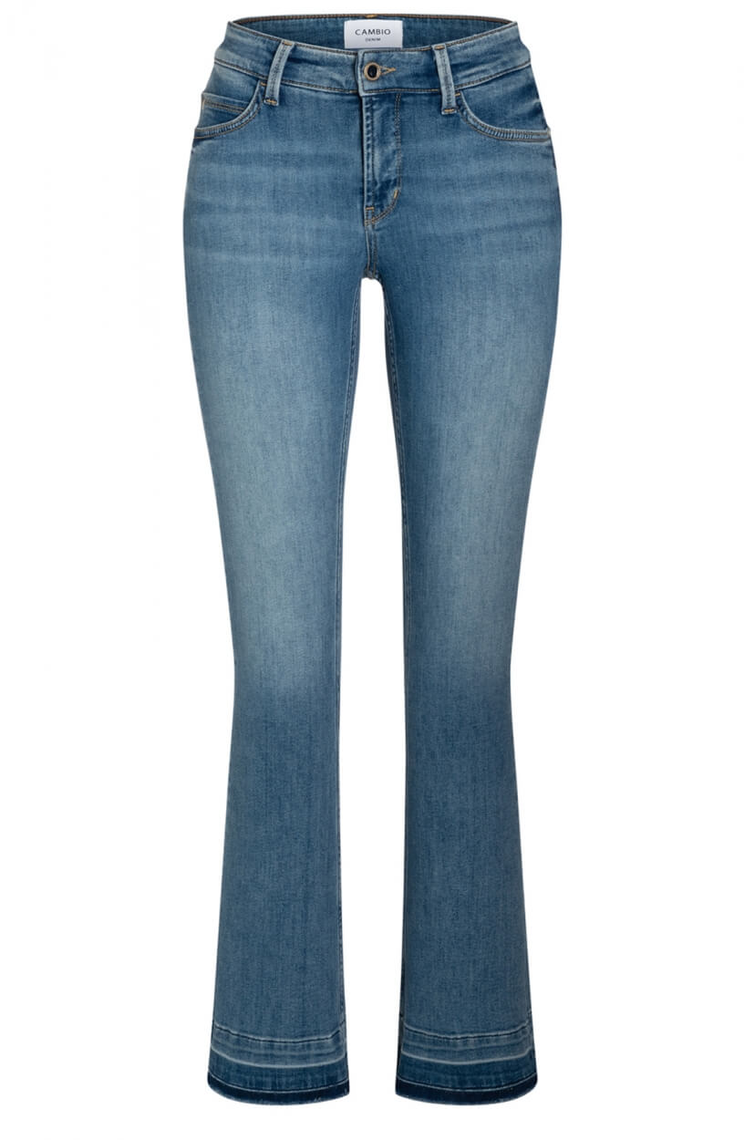Cambio Dames Paris jeans Bruin
