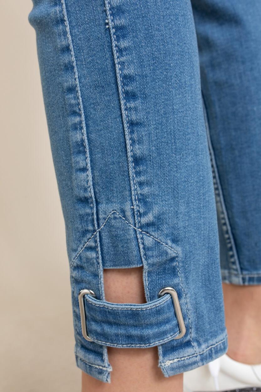 Rosner Dames L28 Antonia jeans Groen