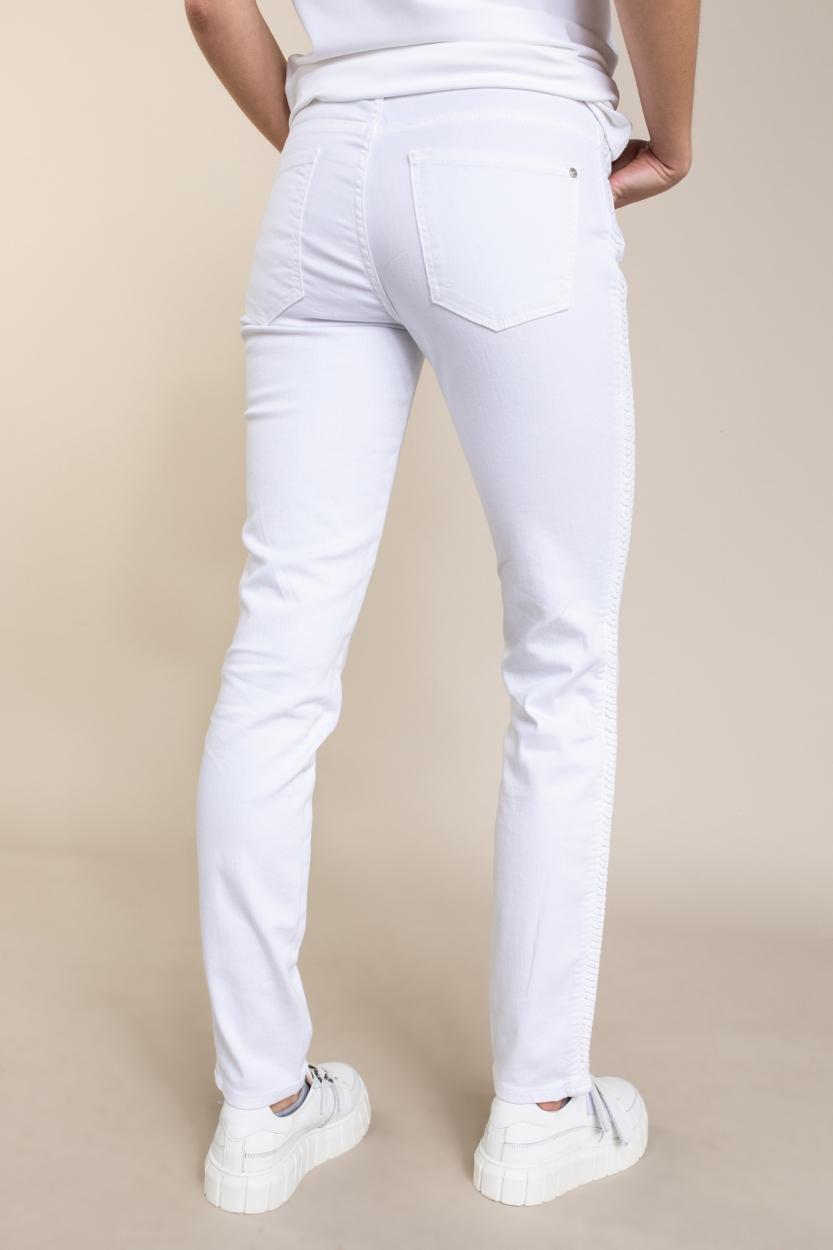 Rosner Dames L30 Antonia jeans Wit