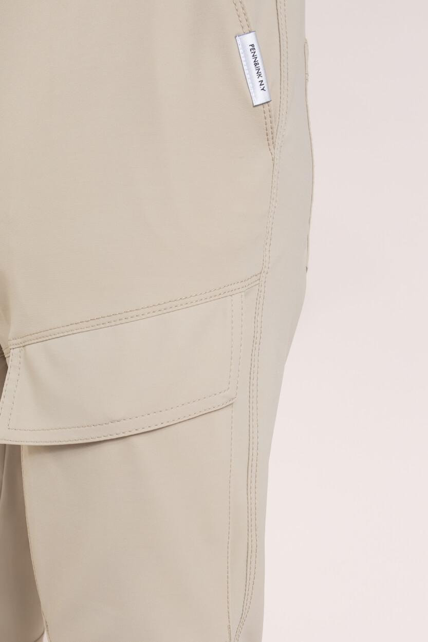 Penn & Ink Dames Jersey broek Bruin