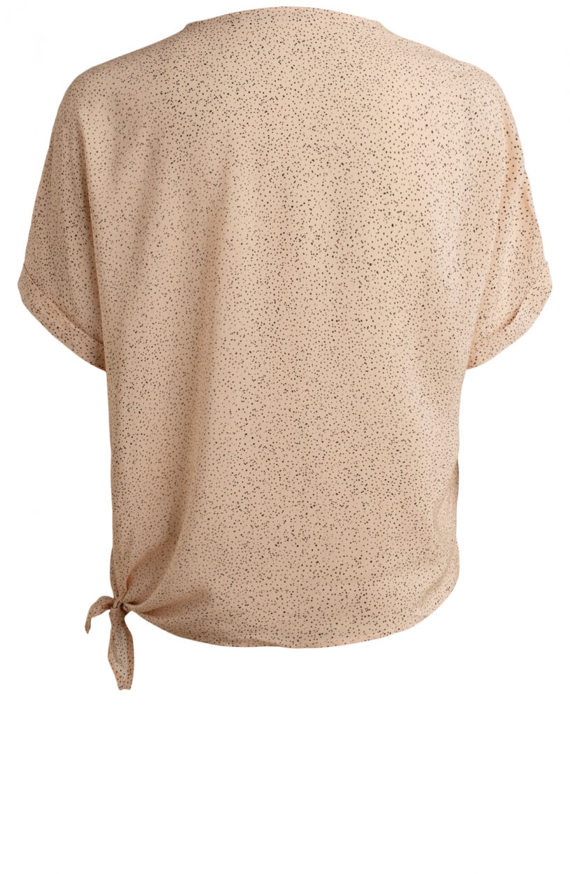 Moscow Dames Lindy stippen blouse Roze