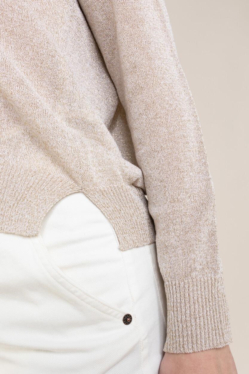La Fee Maraboutee Dames Maelia pullover Wit