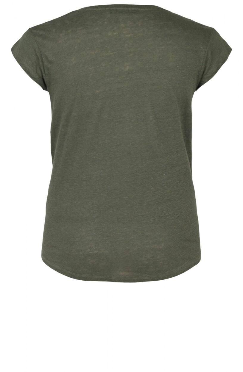 La Fee Maraboutee Dames Davia shirt Groen