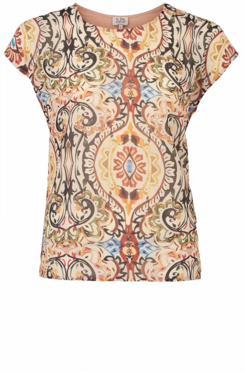 La Fee Maraboutee Dames Mylaine shirt Roze