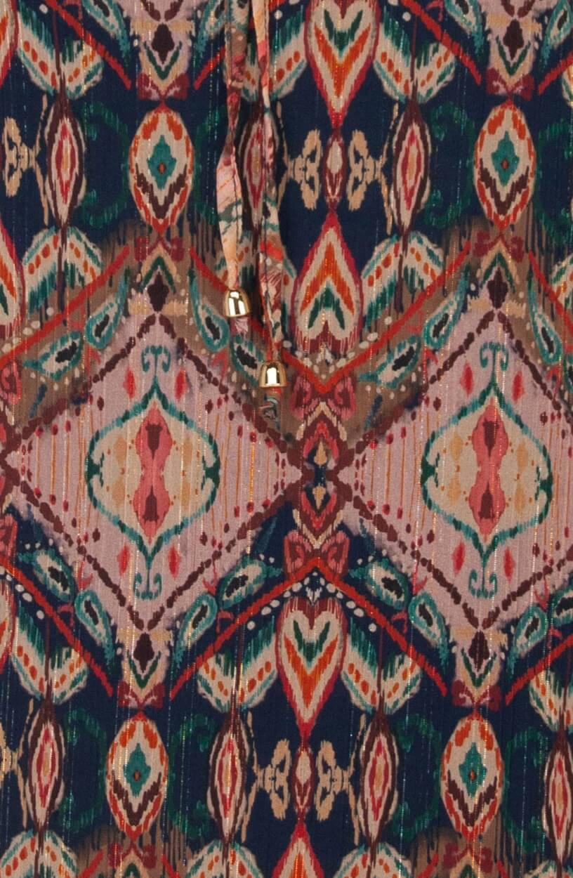 La Fee Maraboutee Dames Lilou blouse Blauw