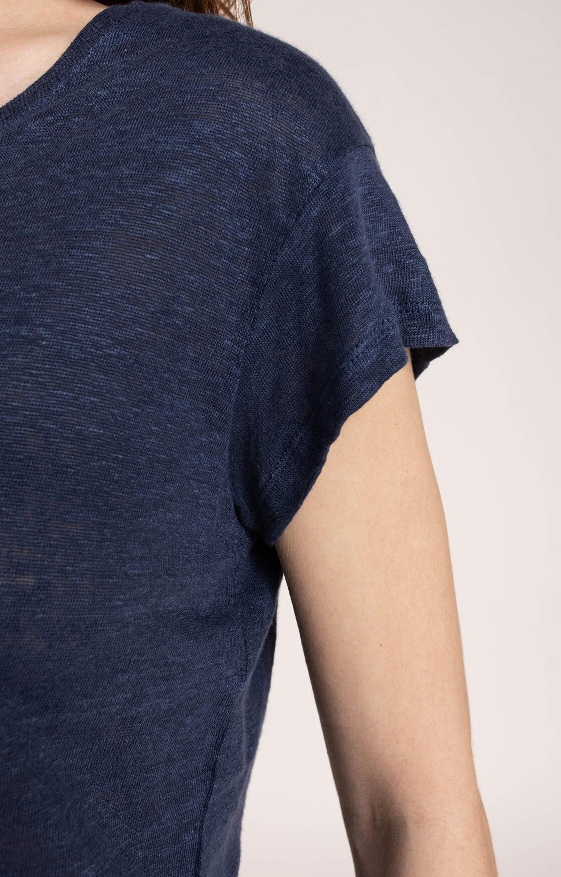 La Fee Maraboutee Dames Davia shirt Blauw