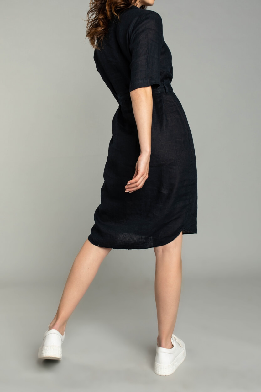Moscow Dames Fantasy jurk Blauw