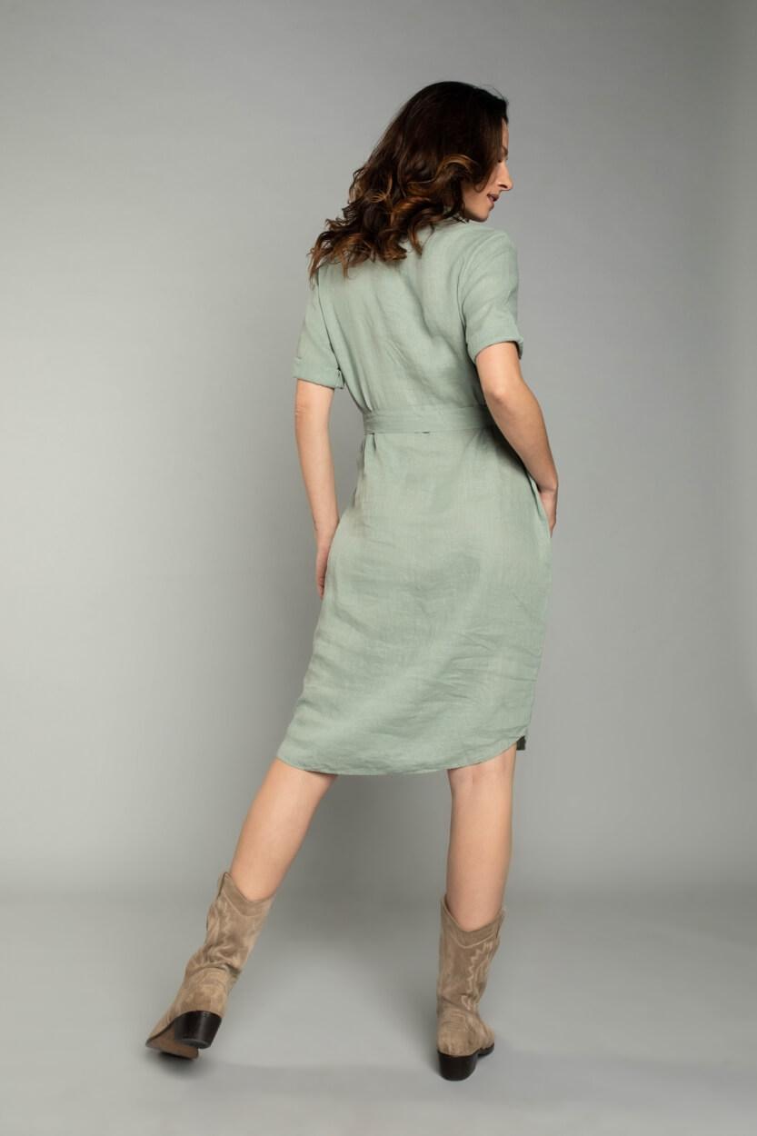 Moscow Dames Fantasy jurk Groen