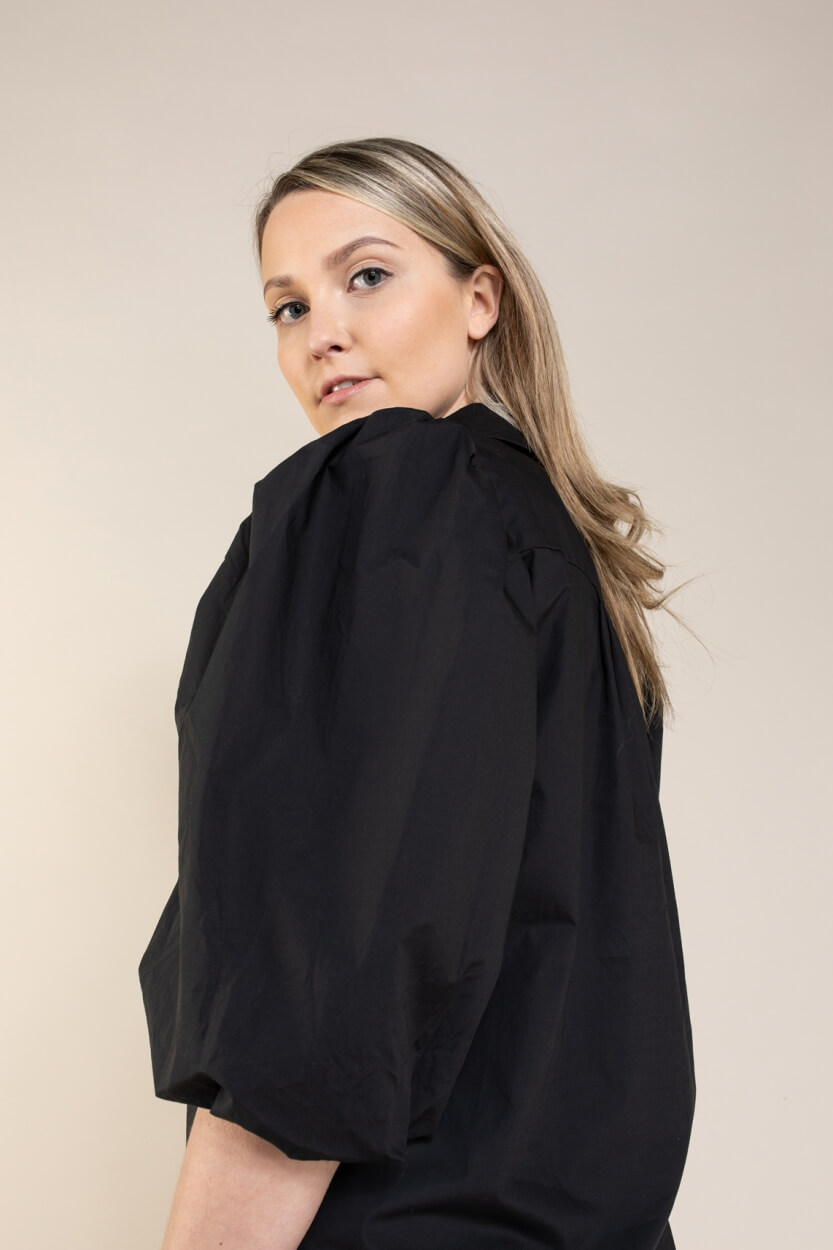Co Couture Dames Collie jurk Zwart