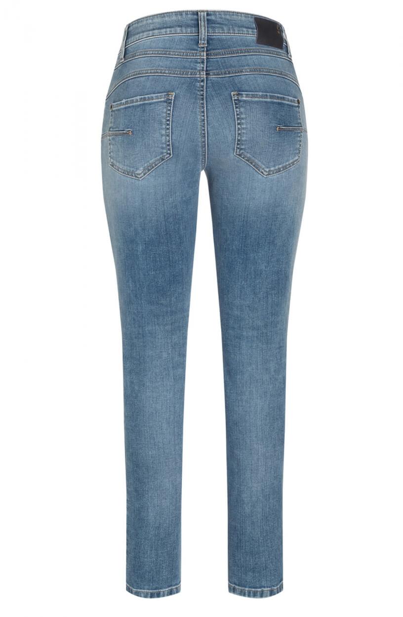 Cambio Dames Skinny jeans Blauw