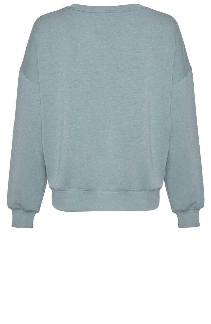 Moss Copenhagen Dames IMA sweatshirt Groen